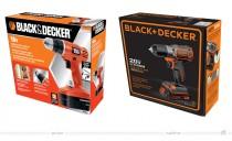 Black + Decker Verpackung – vorher und nachher