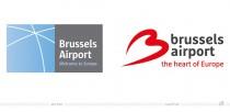 Brussels Airport – Logo vorher und nachher