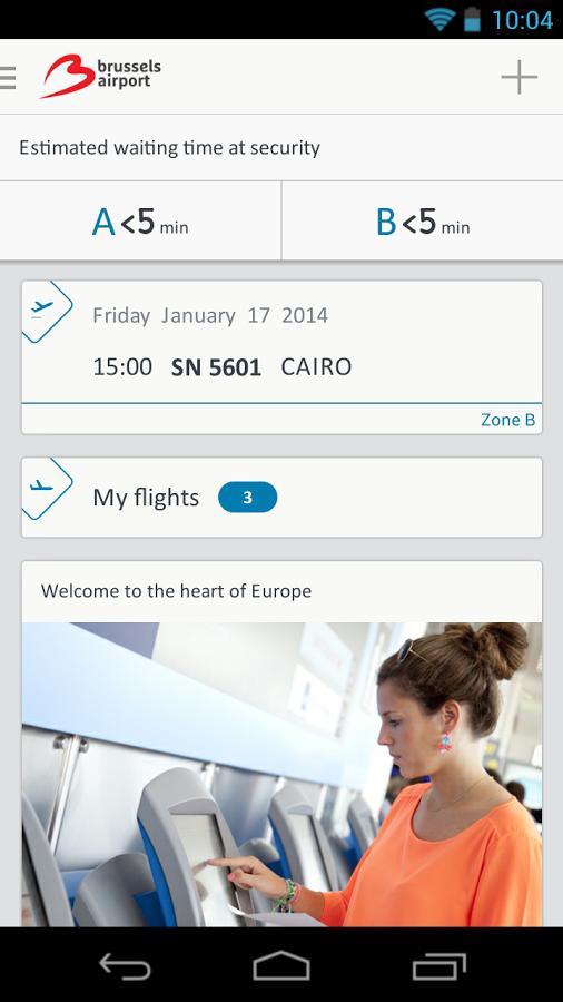 Brussels Airport – App
