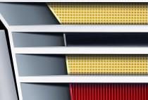 Cadillac Crest (vergrößerter Ausschnitt)