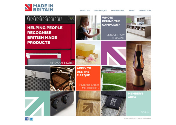 Made in Britain Website