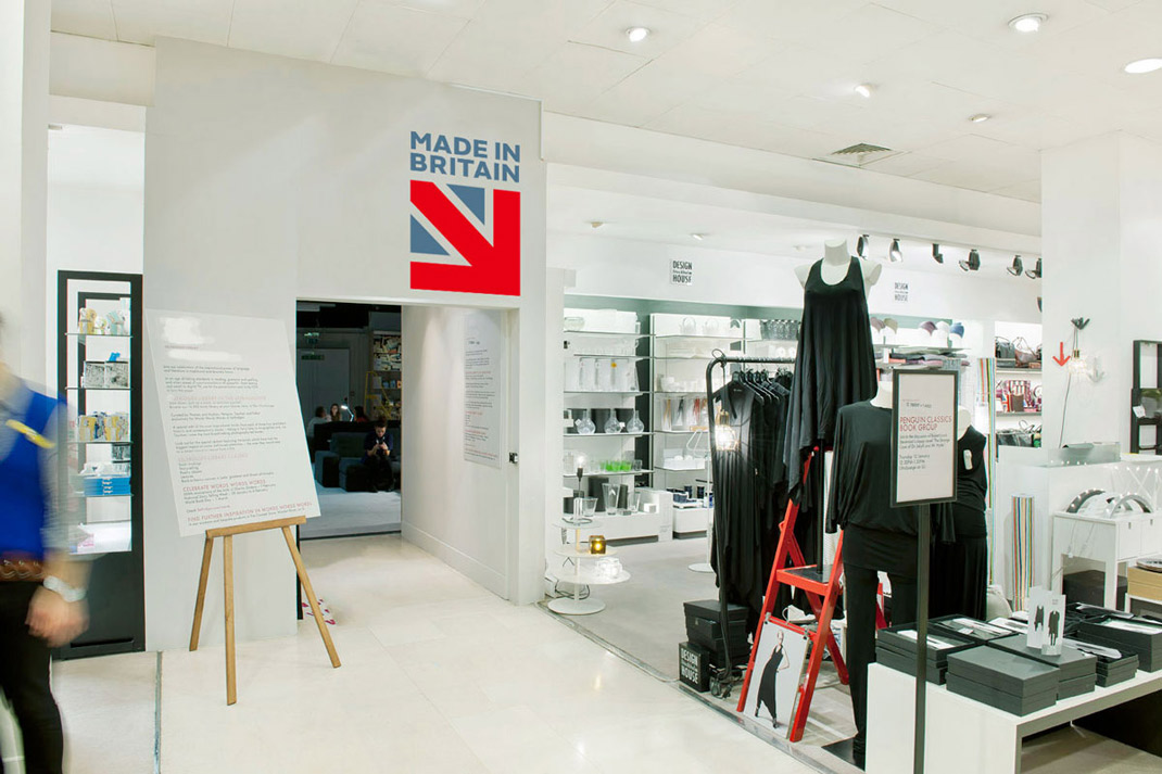 made in britain logo branding market shop