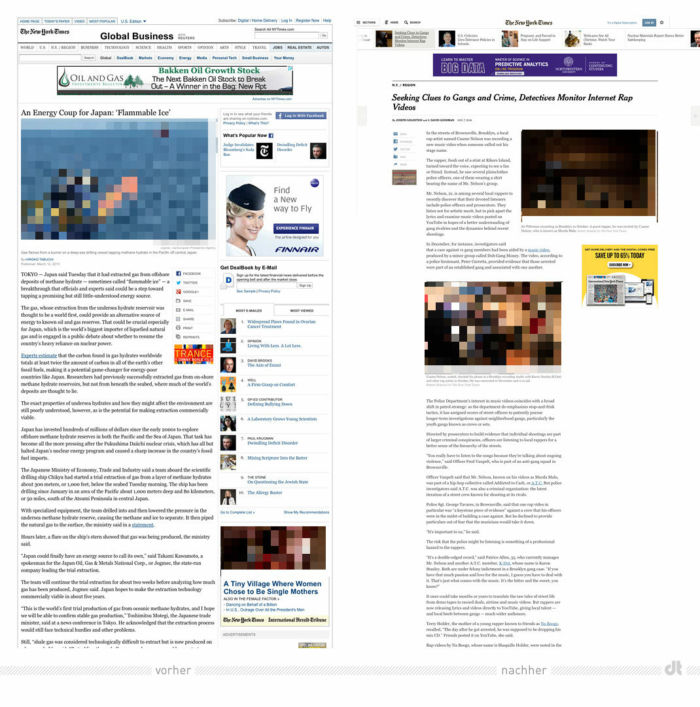 New York Times Relaunch