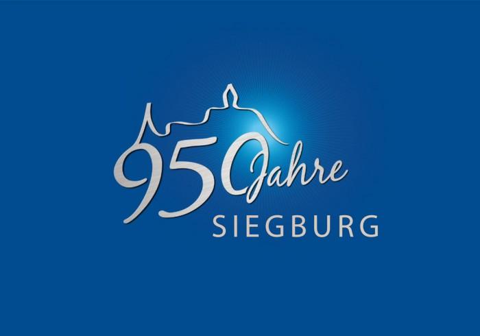 Siegburg 950 Jahre – Jubiläumslogo