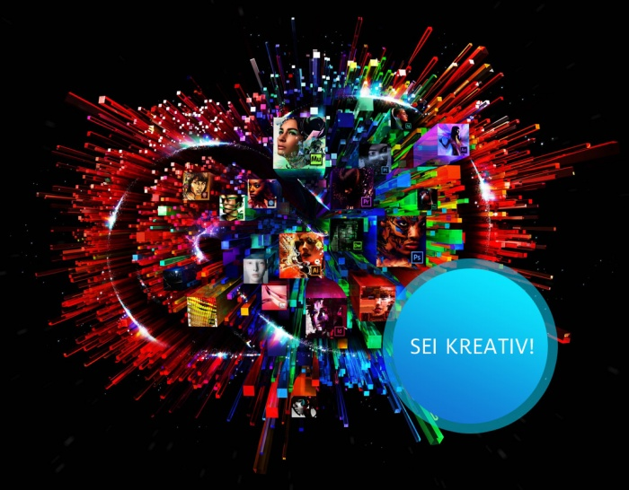 Adobe Creative Cloud – sei kreativ!