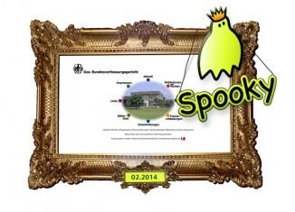 Spooky Award für Bundesverfassungsgericht