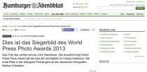 Sozial-Media-Button auf Abendblatt.de