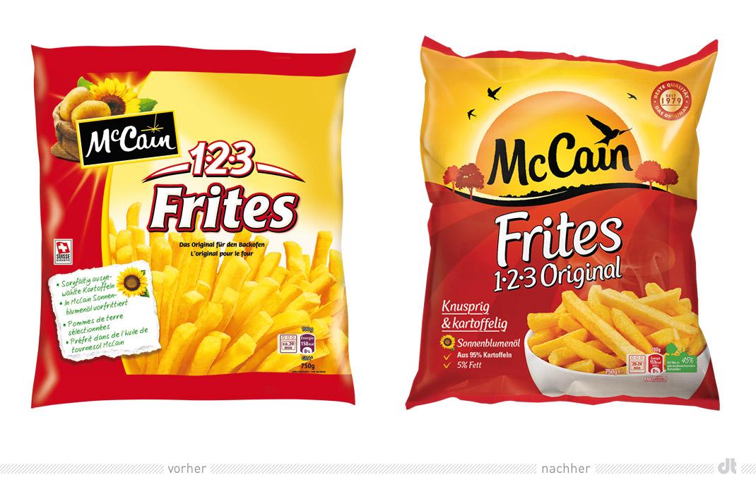 McCain 1 2 3 Frites