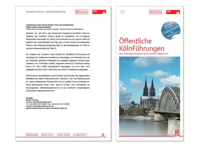 Stadt Köln Markenzeichen – Anwendungsbeispiele