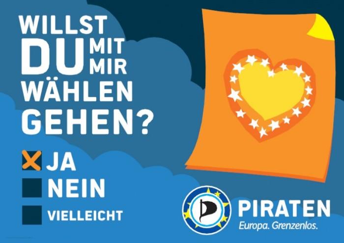 """Europawahl 2014 –"""" Piratenpartei"""