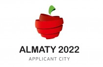 Almaty Olympische WInterspiele 2022 – Bewerbungslogo