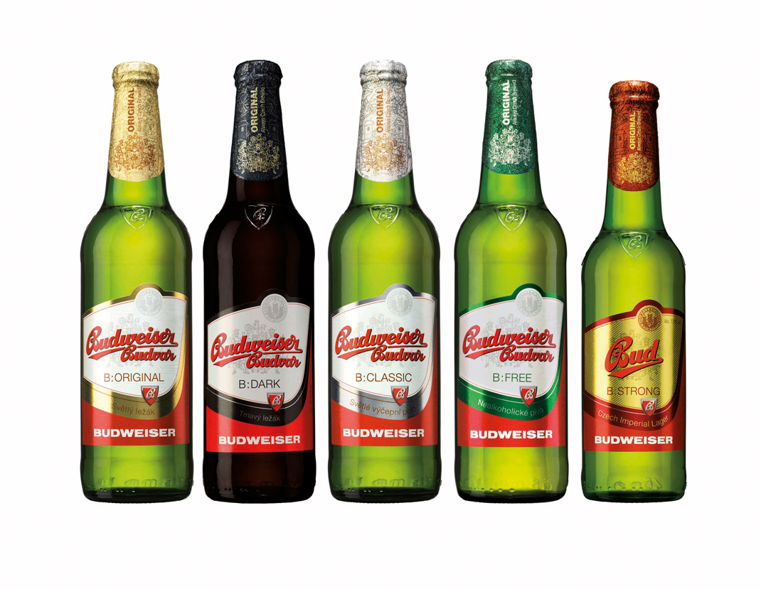 Budweiser Budvar new design