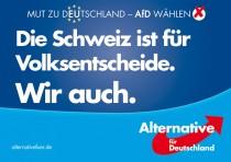Europawahl 2014 – AfD Volksentscheid