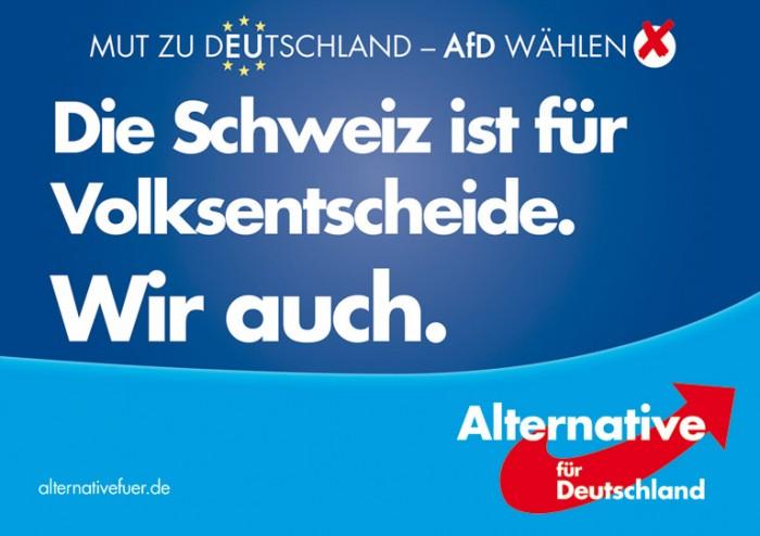 "Europawahl 2014 –"" AfD Volksentscheid"