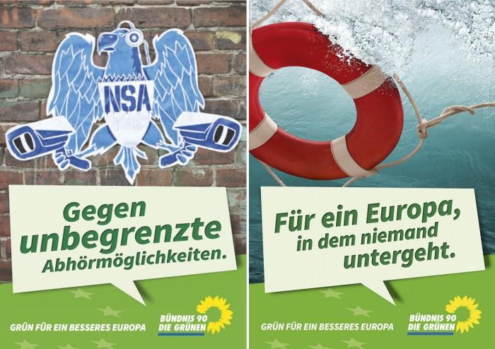 """Europawahl 2014 –"""" Die Grünen"""