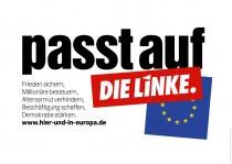 Europawahl 2014 – Die Linke – Großplakat