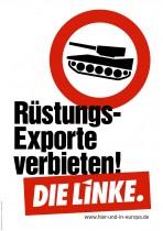 Europawahl 2014 – Die Linke – Rüstungsexporte verbieten