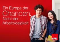 Europawahl 2014 – SPD Plakat Chancen