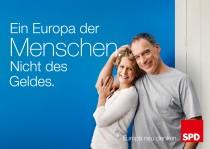 Europawahl 2014 – SPD Plakat Menschen