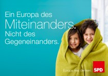 Europawahl 2014 – SPD Plakat Miteinander
