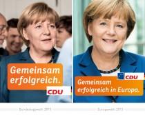 Merkel Plakat
