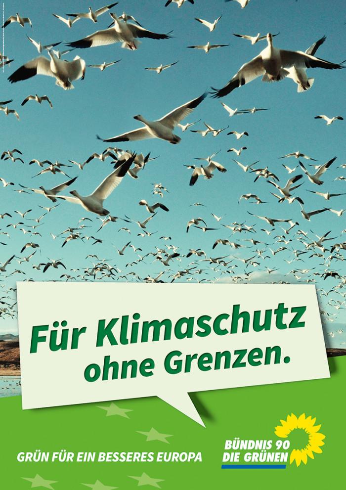 Die Grünen – Plakat Klima