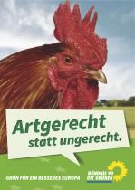 Die Grünen – Plakat Massentierhaltung