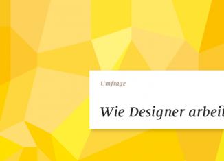 Studie: Wie Designer arbeiten