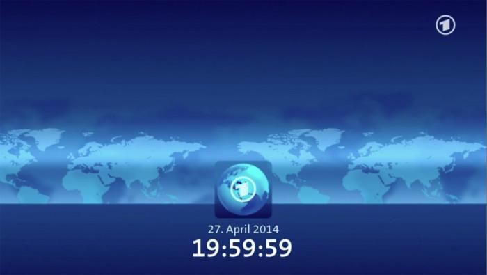 tagesschau Vorspann und Fanfare vom 27.04.2014