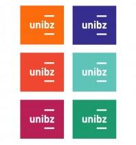 Uni Bozen - Logo Fakultätsfarben