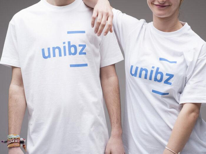 Freie Universität Bozen mit neuem Corporate Design