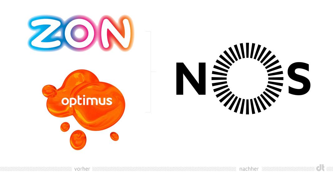 Nos Logo NOS Logo   vorher und nachher
