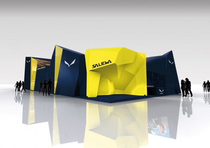 Salewa Messestand