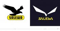 Salewa Logo – vorher und nachher