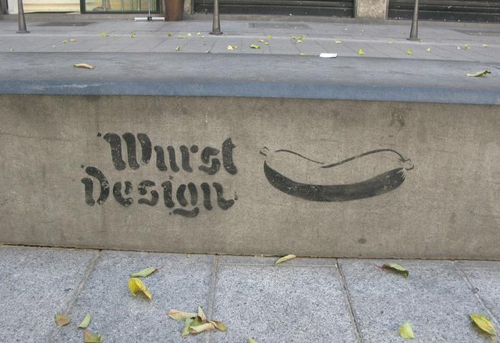 """Wurstdesign: oder warum """"Design"""" einem nicht vollkommen Wurst sein sollte"""