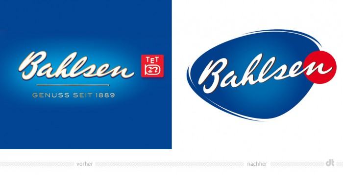 Bahlsen Logo – vorher und nachher