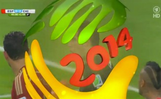On-Air-Design zur Fußball-WM in Brasilien 2014