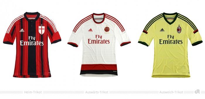 AC Milan Shirts 2014/2015
