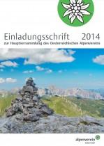 Alpenverein Einladungsschrift