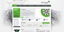 Alpenverein Website