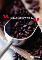 Nescafé It all starts with a…