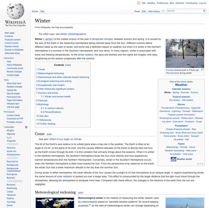 Wikipedia Desktopversion  (aktuell)