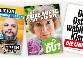 plakate bundestagswahl 2013