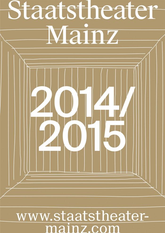 Staatstheater Mainz Spielzeitheft 2014/2015 Cover