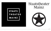Staatstheater Mainz Logo – vorher und nacher