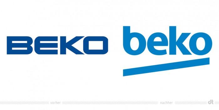 Beko Logo – vorher und nachher