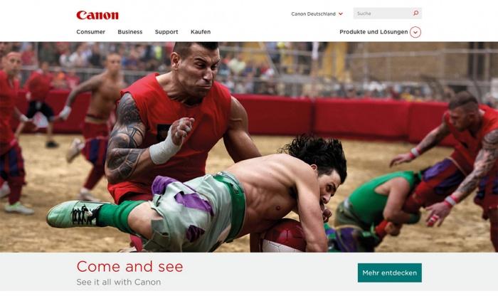 Relaunch von Canon.de