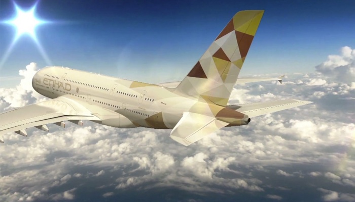 Etihad Airways new A380 livery