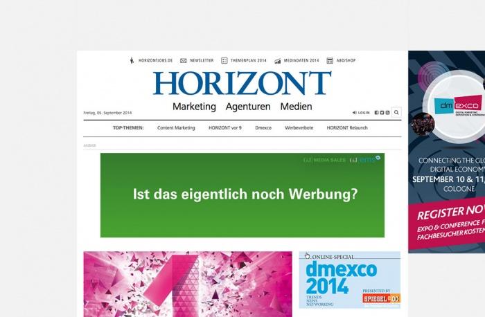 Relaunch des Medienmagazins HORIZONT.NET