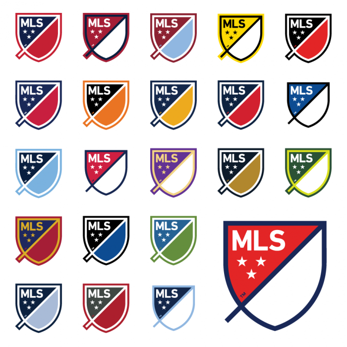 Major League Soccer - Club Colors
